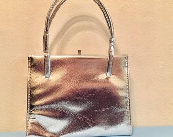 Vintage silver bag