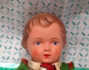 Troll doll trachten-puppen boy