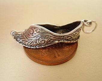 Sterling Silver Aladdins Slipper Charm