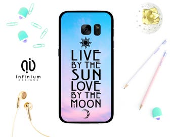 Live By The Sun Case For Samsung S8 Edge, iPhone 7, 7 Plus, iPhone 6S, 6 Plus, 5S, SE, Touch 6, Samsung S8, S7 Edge, S7, A3, A5, J3 & J5