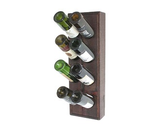 Wall Wine Rack, Wood Riddling Rack