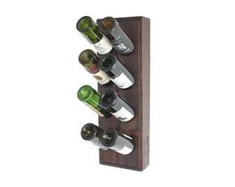 Wine Rack, Wood Riddling Rack, Riddling Wine Rack, Holds 8 Bottles