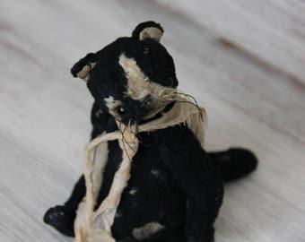 """ooak artist teddy cat """"Zhorzh"""""""
