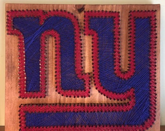 New York Giants string art | New York Giants decor