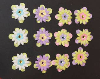 Assorted handmade paper flowers  set 2