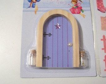 Purple fairy door etsy for Purple fairy door