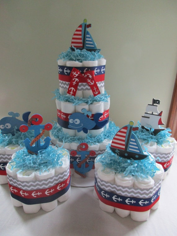 How To Make A Round Diaper Cake