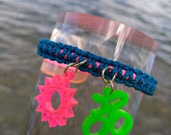 Blue Spring Bracelet