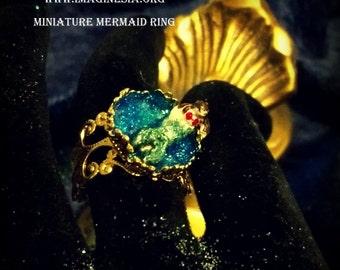 Miniature Mermaid Ring