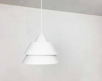 modernist Zone Pendant by Jo Hammerborg for Fog and Mørup, 1960s | midcentury modern STILNOVO | danish modern art deco