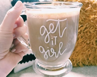 Clear Personalized Mug