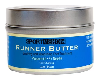 Runner Butter: Soothing and Nourishing Foot Cream | Foot Lotion | Foot Butter for Athletes