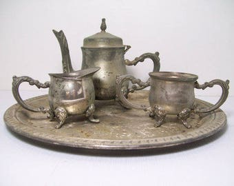 Vintage Godinger Tea Set