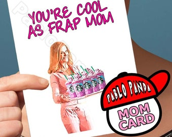 Funny Mothers Day | Lindsay Lohan | Mean Girls Amy Poehler Mommy Card Mother Daughter Love Cards Card For Wife Mothers Day Gift Gift For Mom