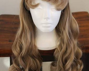 Sleeping Beauty, Aurora, Briar Rose Wig