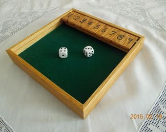 Shut The Box - very educational game