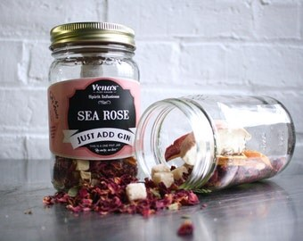 The Sea Rose Gin Infusion Kit - Infuse Your Gin - Vena's Infuse Your Booze