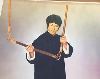 Vintage 1973 Bruce Lee Poster