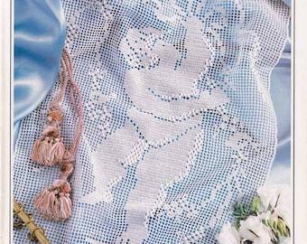 Cherub filet crochet PDF digital download
