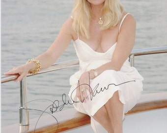 Goldie Hawn Original Vintage Hand Signed 8X10 Autographed Photo