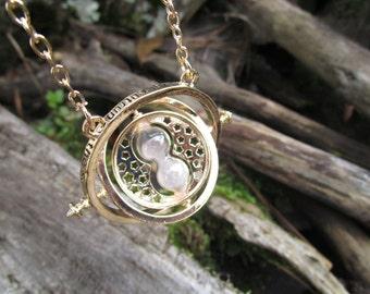Harry Potter Inspired Time Turner Necklace