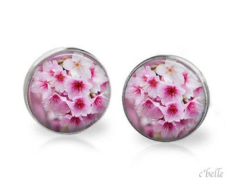 Earrings cherry blossoms 54