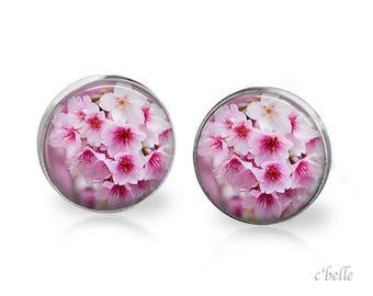 Earrings cherry blossoms 54