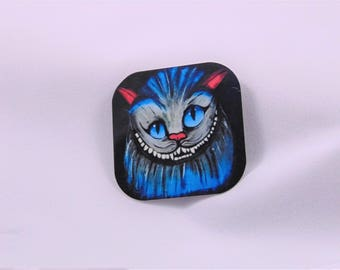 Cheshire Cat Alice In Wonderland  Inspired Magnet