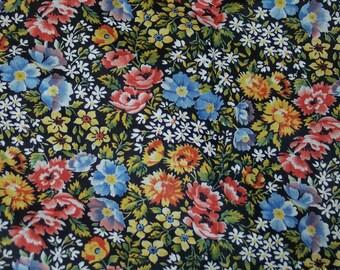 New Vintage floral fabric Haven Fabrics  Manes Organization