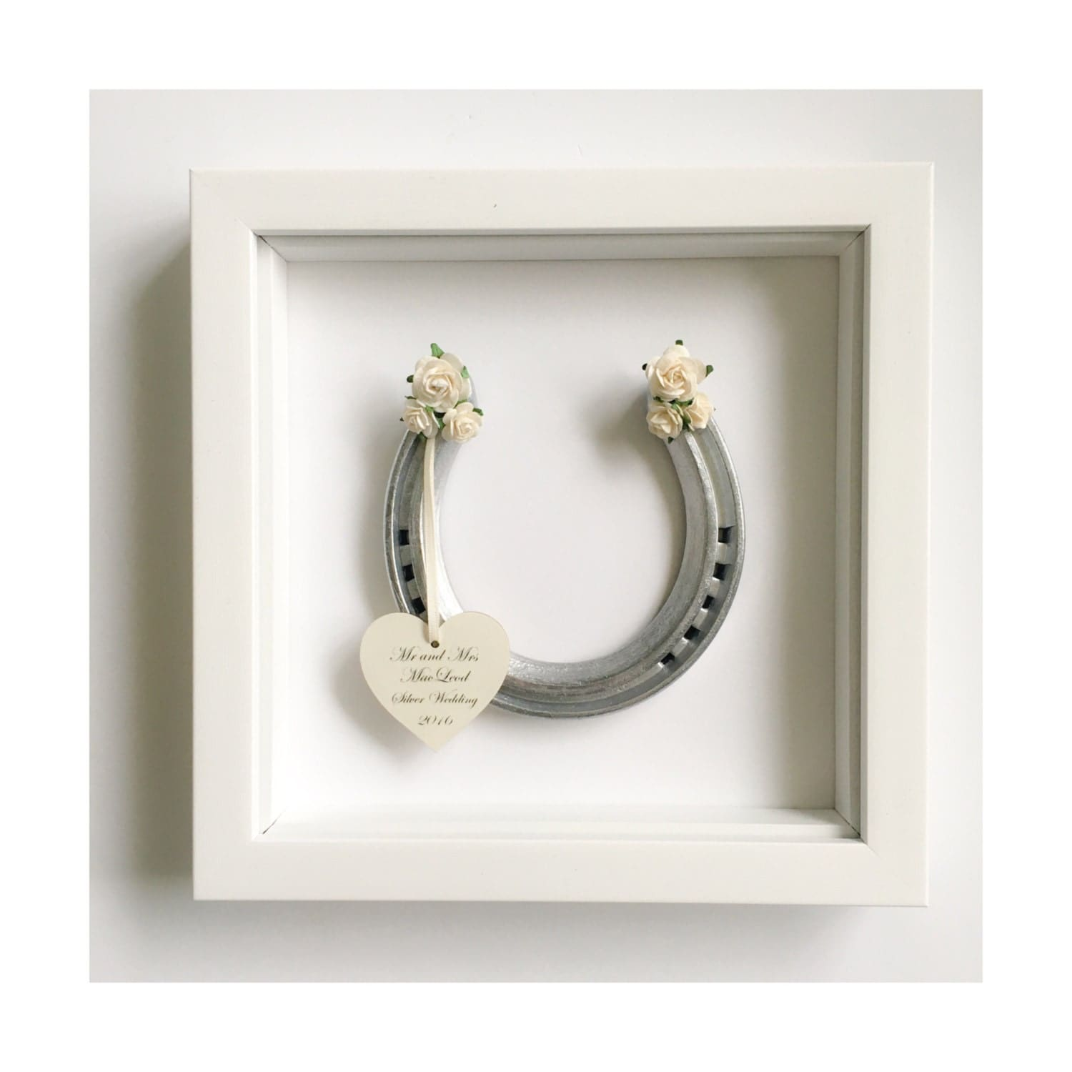 Horseshoe Wedding Gift: Personalised Wedding Horseshoe Traditional Bridal Gift