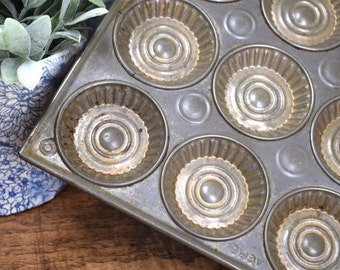Vintage Tart Tin Etsy