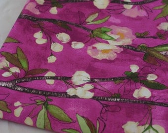 CHERRY BLOOM for Vignette by Laura Gunn for Michael Miller Fabrics