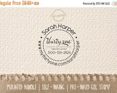ON SALE Personalized Thirty-One Independent Consultant Commercial and Business Stamp for Packaging 132
