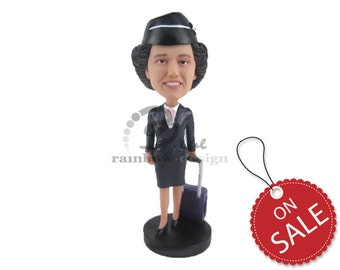 pilot flight attendant wedding cake toppers pilot cake topper etsy uk 18522