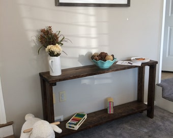 Spring SALE!!! (*Free Shipping!) Handmade Rustic Style Sofa Table