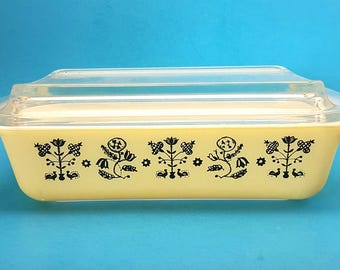 Pyrex Embroidery Spacesaver, Pyrex 575, Pyrex Needlepoint LID NOT INCLUDED
