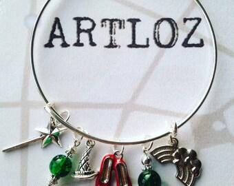 Wizard of Oz charm bracelet/bangle