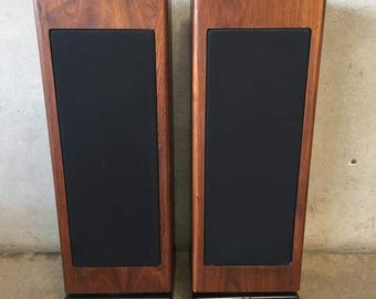 Jennings Walnut Veneer Pedestal Speakers (926YTD)