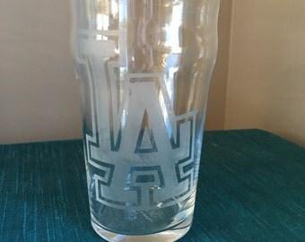 Set of 4 Los Angeles Dodgers Pub Glasses