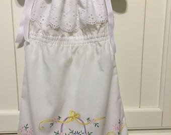 Vintage Pillowcase Toddler Dress