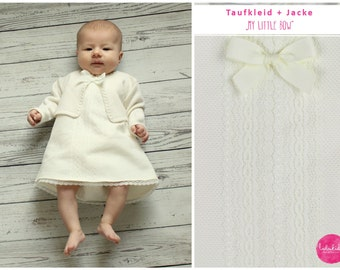 Christening gown outfit baptism baby girl festive dress baby dress with jacket cotton dress evening dress wedding