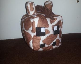 SALE!!!  Minecraft Style Giraffe Cube