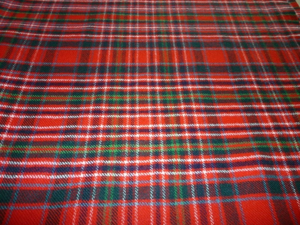 Macalister Macallister Modern Tartan Fabric 100 Pure New