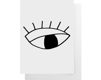 eye note card
