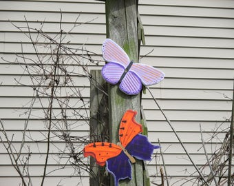 Butterfly Yard Signs