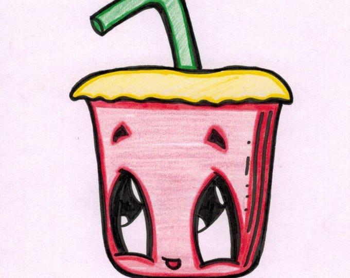 Soft Drink Cartoon