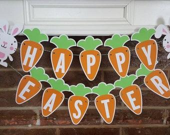 Happy Easter Banner... Bunny... He Is Risen...