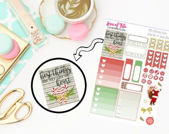 The Giving Tree Side Bar | Life Planner Stickers