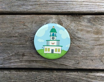 Halifax Town Clock Magnet | Citadel Hill | Fridge Magnets