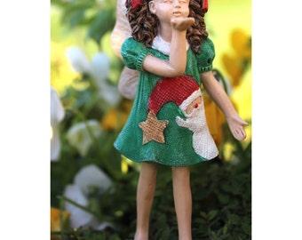 Fairy Garden  - Tabby - Miniature
